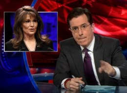 Stephen Colbert calls out Sarah Palin for What She Is
